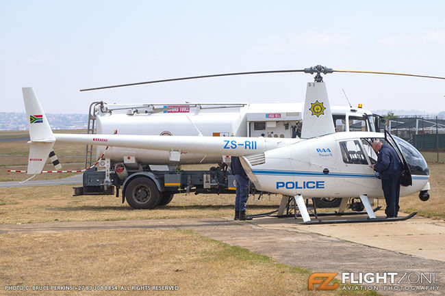 Robinson R44 ZS-RII SA Police Rand Airport FAGM