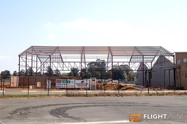 Pilatus Hangar at Rand Airport FAGM