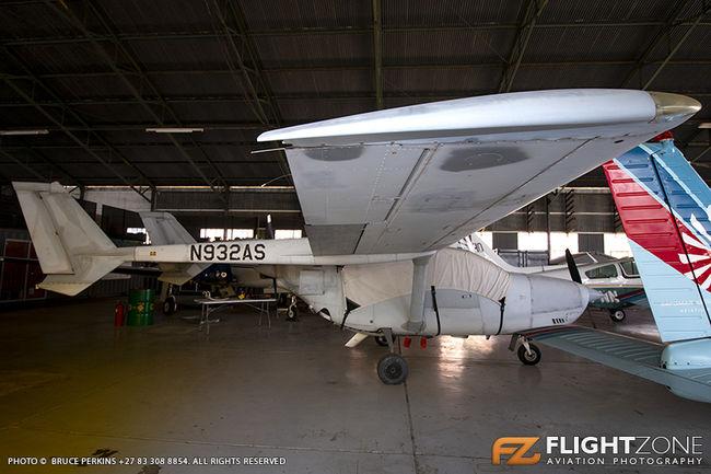 Cessna T337 Skymaster N932AS Rand Airport FAGM