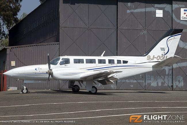 Cessna 404 Titan 9J-OOU Rand Airport FAGM