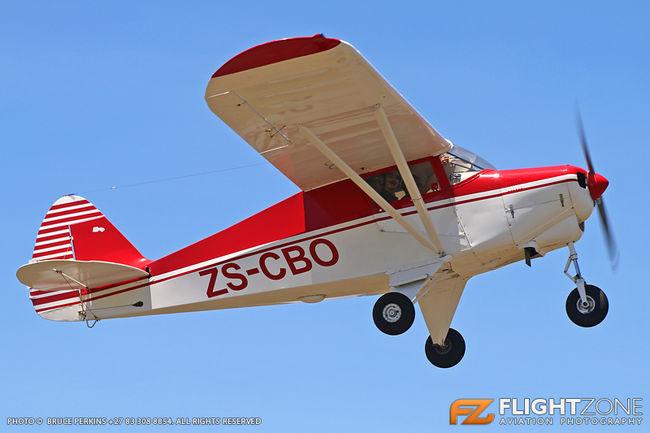 Piper PA-22 Colt ZS-CBO Vereeniging Airfield FAVV
