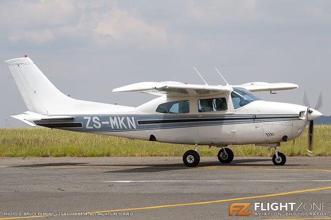 Cessna 210 Centurion ZS-MKN Rand Airport FAGM