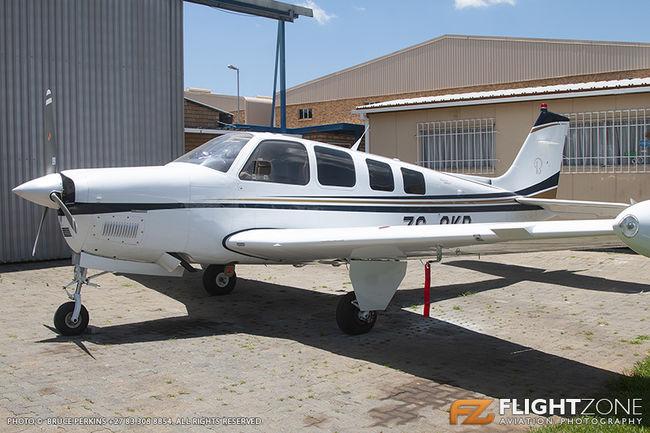 Beechcraft G36 Bonanza ZS-OKP Rand Airport FAGM 36