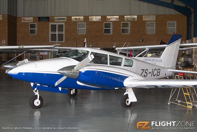 Piper PA-30 Twin Comanche ZS-ICB Rand Airport FAGM