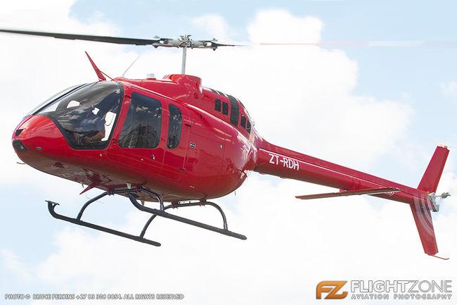Bell 505 Jet Ranger X ZT-RDH Rand Airport FAGM