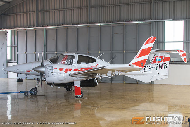 Diamond DA-42 ZS-FMR Rand Airport FAGM