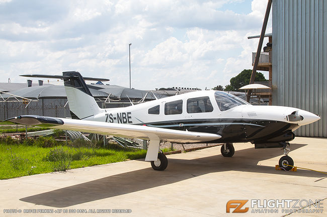 Piper PA-28R Cherokee Arrow IV ZS-NBE Rand Airport FAGM PA-28