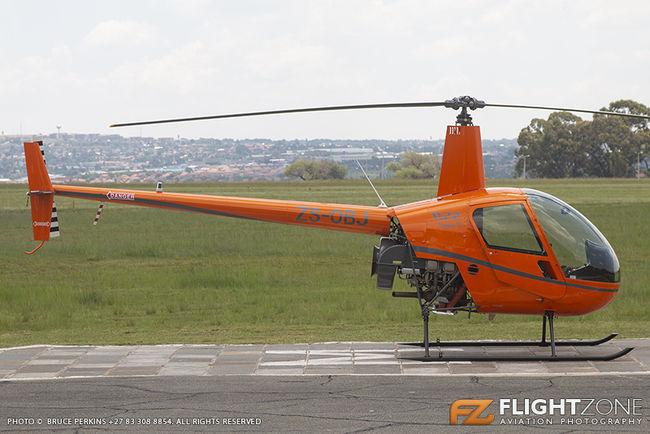 Robinson R22 ZS-OBJ Rand Airport FAGM