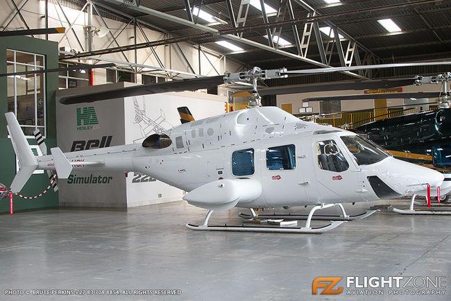Bell 222 UT ZS-HSK Rand Airport FAGM