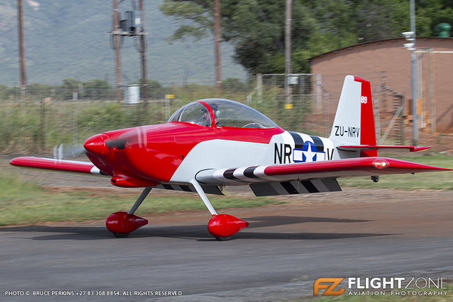 Vans RV-8 ZU-NRV Coves Airfield