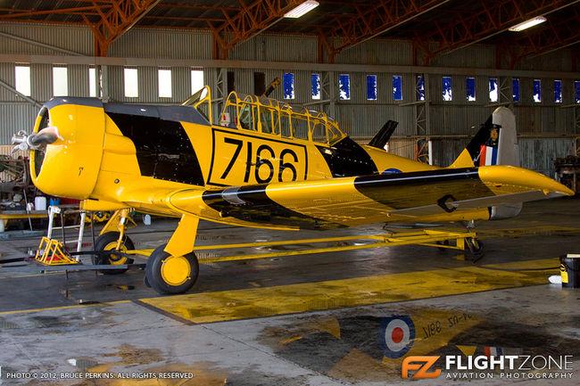 SAAF Harvard 7166 Swartkops Air Force Base