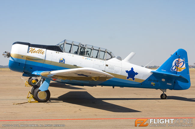 SAAF Harvard 7059 ZU-AOR Swartkops Air Force Base