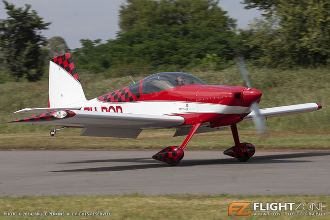 Vans RV-7 ZU-POP Coves Airfield