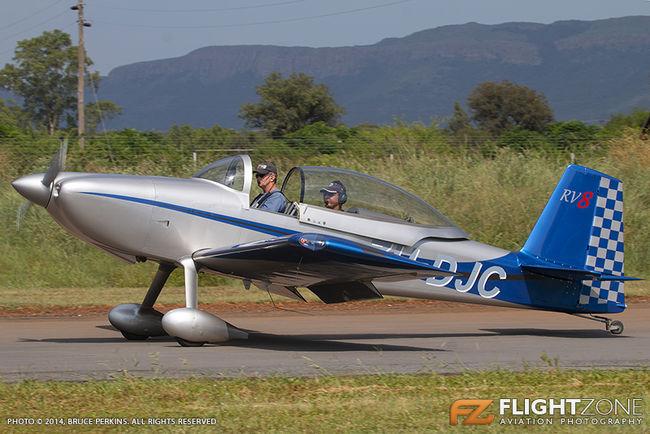 Vans RV-8 ZU-DJC Coves Airfield