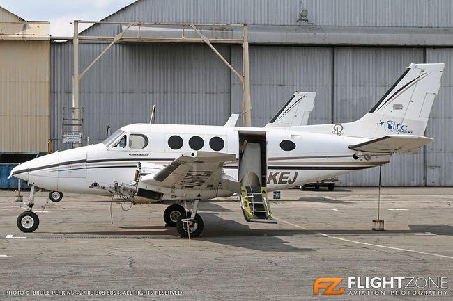 Beechcraft B60 Queen Air ZS-KEJ Rand Airport FAGM