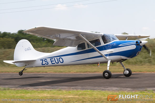 Cessna 170 ZS-EUO Coves Airfield