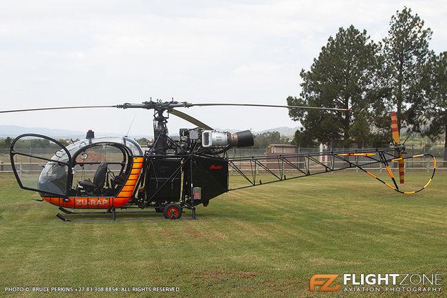 Aerospatiale Alouette II ZU-RAP Aviators Restaurant Hartbeespoort Dam area