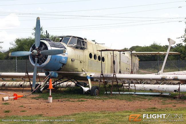 Antonov AN-2 ZU-ATI ex SP-FAL Aviators Restaurant Hartbeespoort Dam area