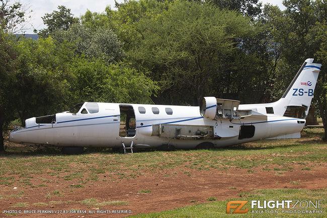 Cessna Citation ZS-BTC Aviators Restaurant Hartbeespoort Dam area