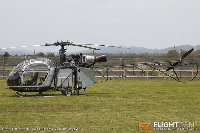 Aerospatiale Alouette II ZU-RBK Aviators Restaurant Hartbeespoort Dam area