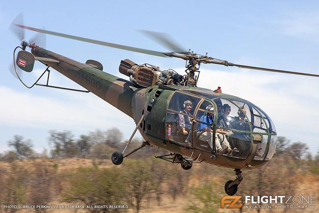 Aerospatiale Alouette III ZU-HGO Kittyhawk Airfield FAKT