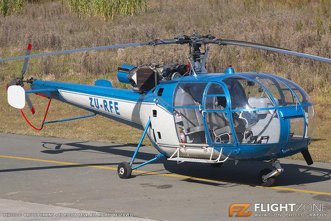 Aerospatiale 3160 Alouette III ZU-RFE Rand Airport FAGM