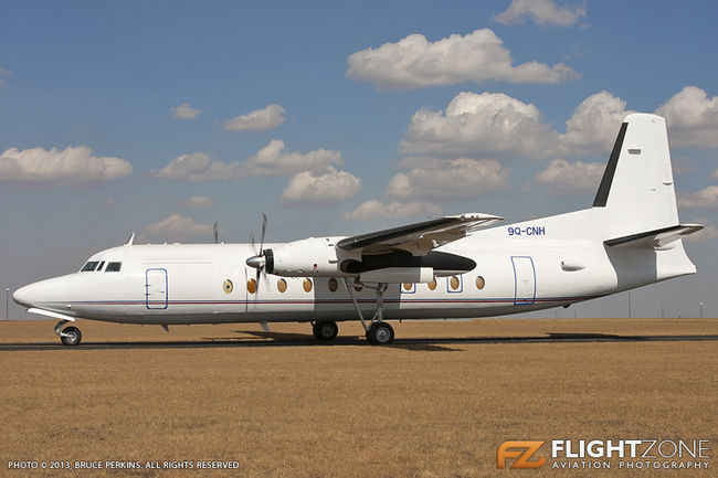 Fokker F-27 500 Friendship 9Q-CNH Rand Airport FAGM