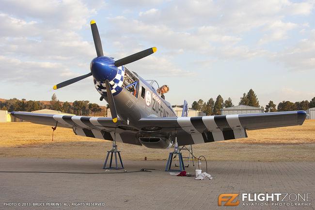 Titan T-51 Mustang Replica ZU-FWT Tedderfield Airfield FATA