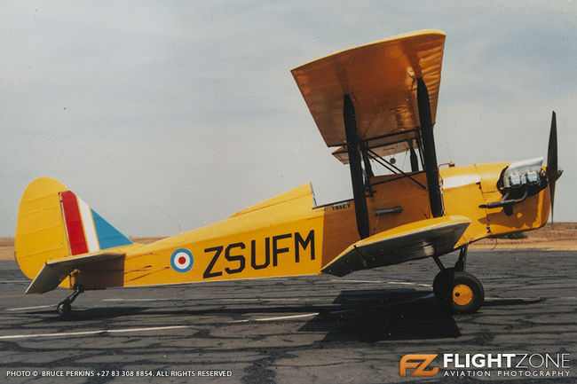 Currie Wot Biplane ZS-UFM Margate Airfield FAMG