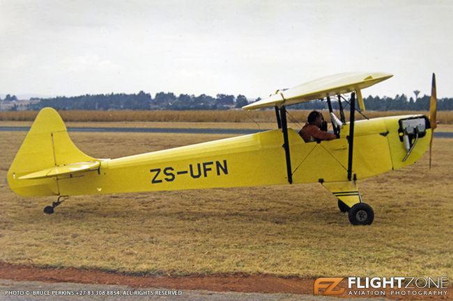 Luton LA4A Minor ZS-UFN Grand Central Airport FAGC 28-07-1990