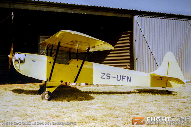 Luton LA4A Minor ZS-UFN Syferfontein Airfield FASY 19-05-1991