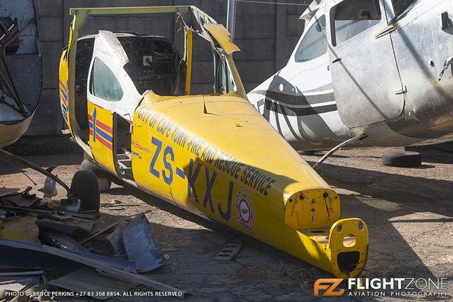 Cessna 182 Skylane ZS-KXJ Rand Airport FAGM