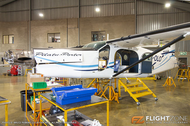 Pilatus PC-6 Porter ZS-OLO Rand Airport FAGM SA Police