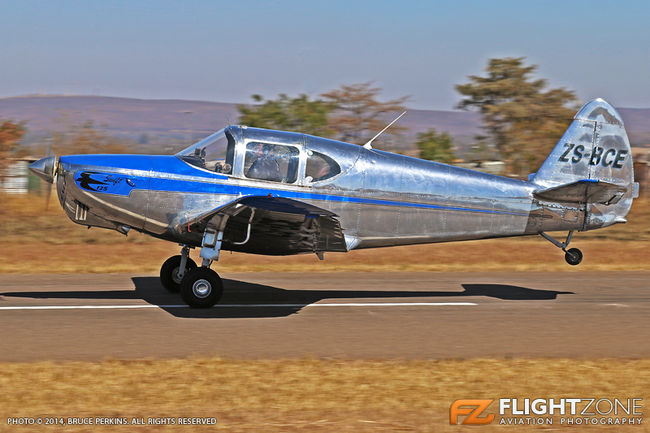 Globe GC-1B Swift ZS-BCE Nylstroom Airfield FANY - The G503