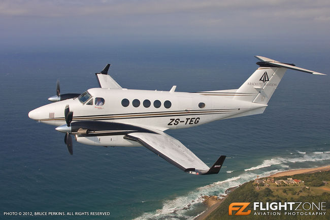 Hawker Beechcraft King Air 250 ZS-TEG Durban