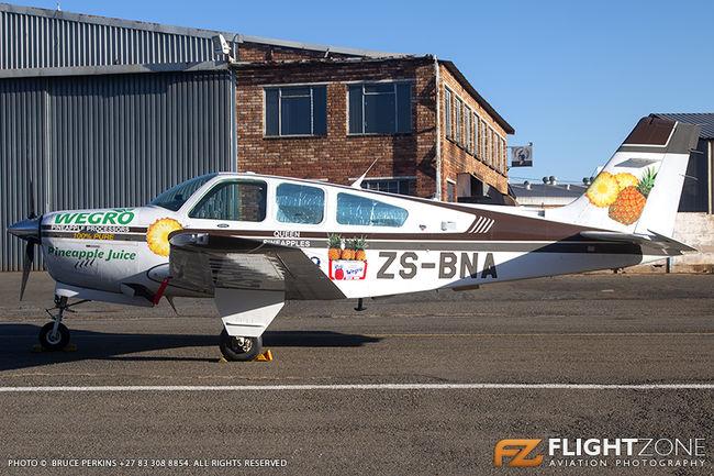 Beechcraft Bonanza F33A ZS-BNA Rand Airport FAGM