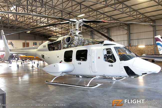Bell 430 ZT-RRR Rand Airport FAGM ex D2-EYK N825GB C-FOFH
