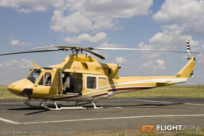 Bell 412 Huey ZS-HAU Rand Airport FAGM
