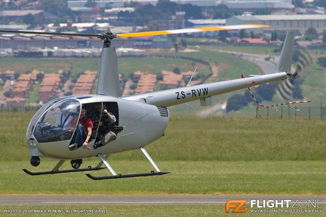 Robinson R44 ZS-RVW Rand Aiport FAGM