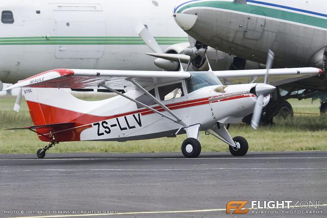 Maule ZS-LLV Rand Airport FAGM
