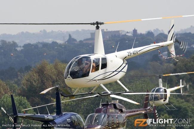 Robinson R44 ZS-ADV Rand Airport FAGM