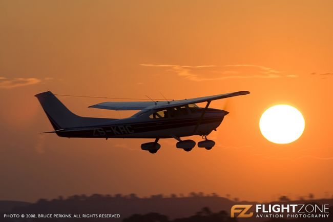 Cessna 182 Skylane ZS-KRC Rand Airport FAGM