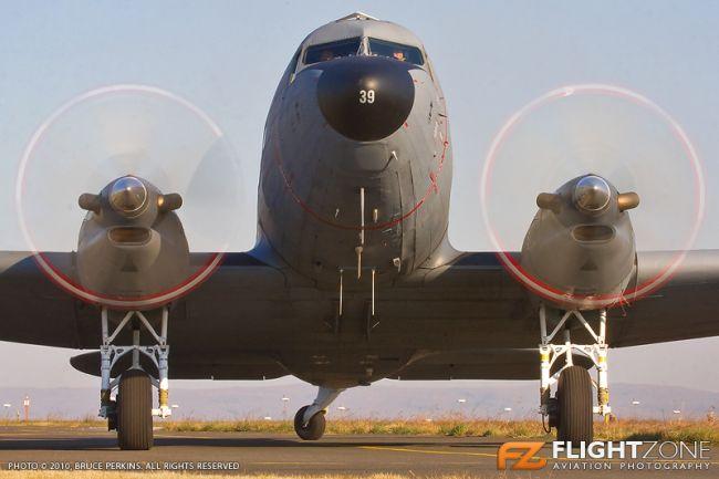 Douglas DC-3 C-47 Turbine Dakota SAAF-6839 Rand Airport FAGM