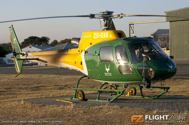 Eurocopter AS350 B3 Squirrel ZS-OXK Rand Airport FAGM