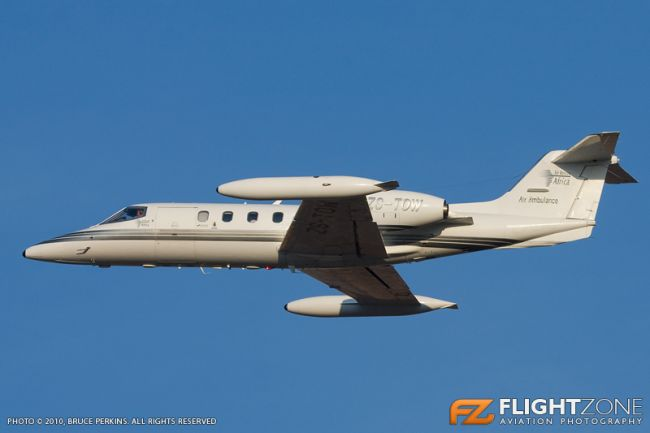 Lear Jet 35A ZS-TOW Lanseria Airport FALA 35