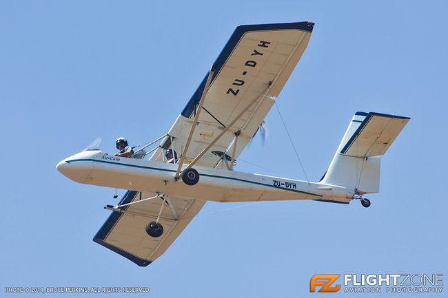 Lockwood Macpherson Graham Air Cam ZU-DYH Syferfontein Airfield FASY