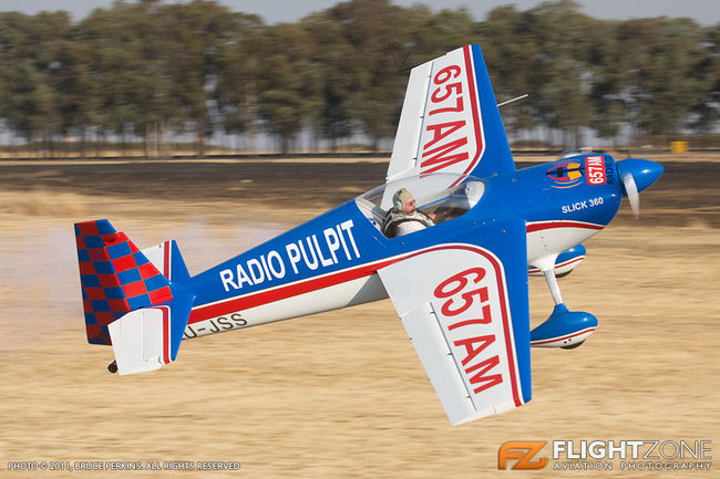 Slick 360 ZU-JSS Secunda Airfield FASC Johnie Smith