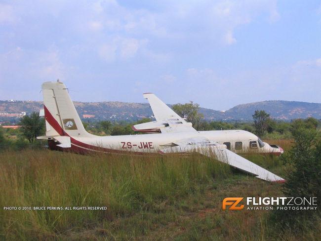 Rockwell Aero Commander ZS-JWE Wonderboom Airport FAWB