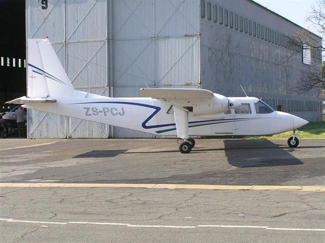 Britten Norman Islander ZS-PCJ Rand Airport FAGM