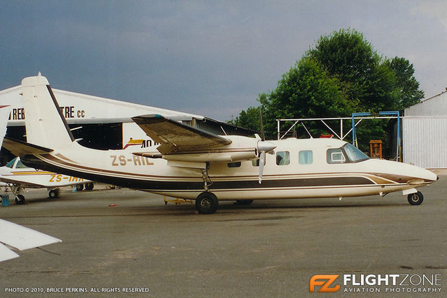 Rockwell Commander 680 ZS-RIL Rand Airport FAGM